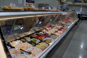 hot foods showcase